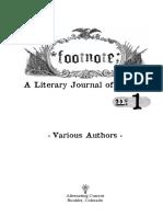 Footnote #1