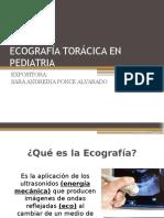 Ecografía Torácica en Pediatria