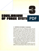 Equilibrium of Force Systems
