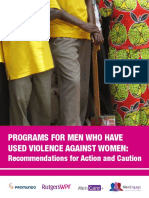 Final Programs for Men Who Use IPV Briefing Paper 1