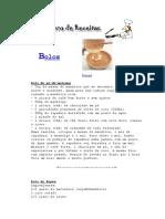 [Culinária] Livro de receitas - Bolos.pdf