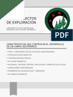TEMAS SELECTOS DE EXPLORACIÓN