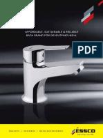 Jaquar Bathroom Fittings Catalogue Pdf Tap Valve Production
