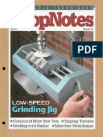 ShopNotes #31 (Vol. 06) - Low Speed Grinding Jig