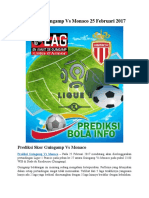 Prediksi Guingamp vs Monaco 25 Februari 2017