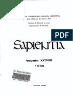 Revista Sapientia - Fascículo 147