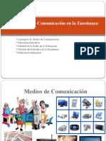 Los Medios de Comunicación en La Enseñanza