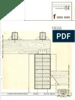Cuaderno 8 vigas de madera