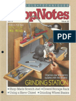 Crafts - Woodworking - Magazine - (eBook) - Shopnotes #44 - Grinding Station