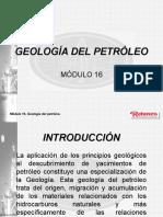 Módulo 16 GEOLOGIA DEL PETROLEO