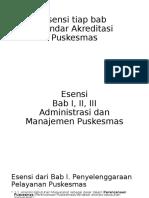 Asensi Bab I, II, III Administrasi Dan Manajemen Puskesmas