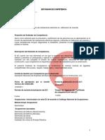 Ficha Estándar para Instalaciones Electricas