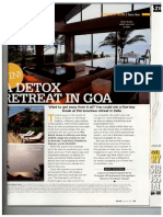 Detox Retreat in Goa - Ajit Patel Sanda Goldshield