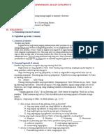 Pagpapayamang Aralin sa Filipino VI ( Uri Ng Pang-Abay)