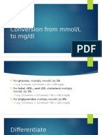 Conversion From Mmol, Arthritis Differentiation