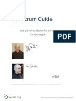 2016 Scrum Guide German