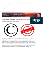 Copyright and Patent