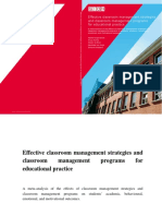 PDF GION Rapport Effective Classroom Management