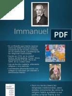 Immanuel Kant Presentacion