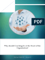 White Paper - Coaching at the Heart of the Organisation