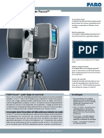 FARO Laser Scanner Focus 3D Tech Sheet