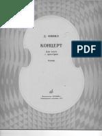 Finko Viola Concerto Klavir