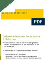 Recruitment 0