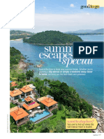 Summer Escape to a Special Paradise - Ajit Patel Sanda Groups