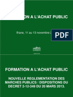 Décret Marché- 2014