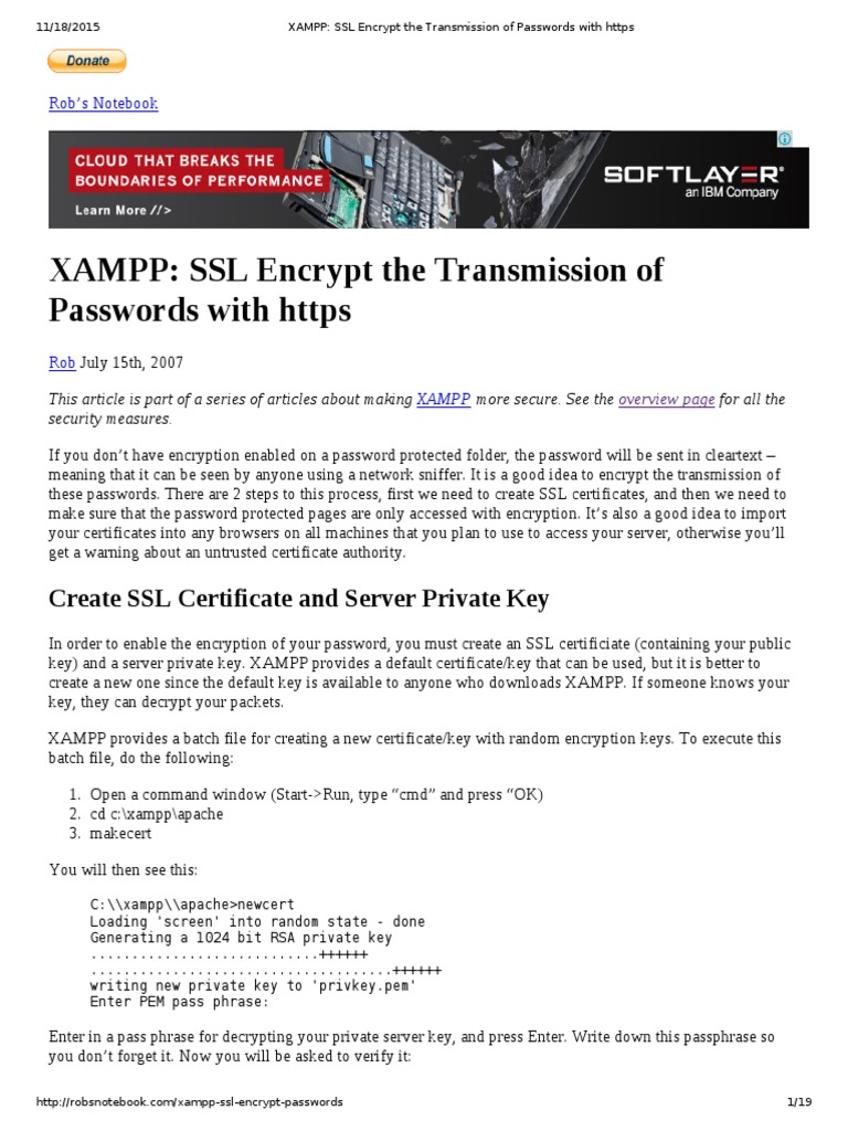 Xampp ssl encrypt the transmission of passwords with https xampp ssl encrypt the transmission of passwords with https public key certificate transport layer security xflitez Image collections