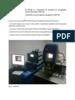 Analizorul de Microsisteme MSA-500f