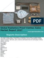 Global Radiation-Proof Clothes Sales Market Report 2017