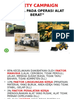 Campaign Material - Heavy Equipment