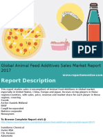 Global Animal Feed Additives Sales Market Research Report 2017