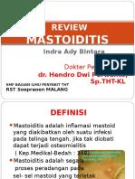 196553347 Mastoiditis