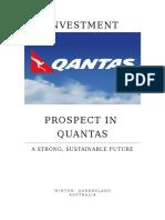 Investment Prospect in Quantas
