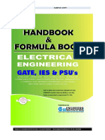 Electrical Handbook Formula Book Sample