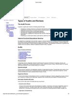 Types of Audits-jenis Audit