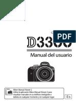 Manual Usuario Nikon d3300