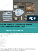 Global Medical Disposable Masks Sales Market Report 2017