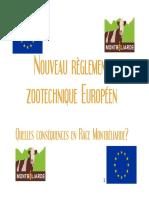 Règlement zootechnique européen