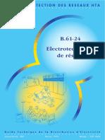 B.61-24 Electrotechnique de  Réseau