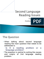 Second Language Reading Issus 1220335810653658 8