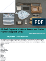 Global Organic Cotton Sweaters Sales Market Report 2017