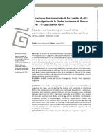 Estructura y funcionamiento comités de ética CABA y Gran Buenos Aires