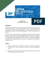 Programa Seguridad y Justicia