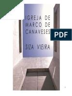 Igreja Marco Canaveses - Siza Vieira