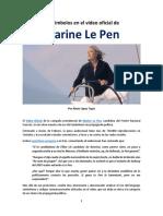 López Tapia, Alexis; Los Símbolos en La Propaganda de Marine Le Pen