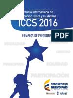 Ejemplos de Preguntas ICCS 2016