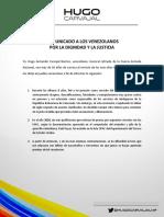 Comunicado a Los Venezolanos_vd23f
